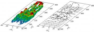 Growth mechanisms of a turbulent spot